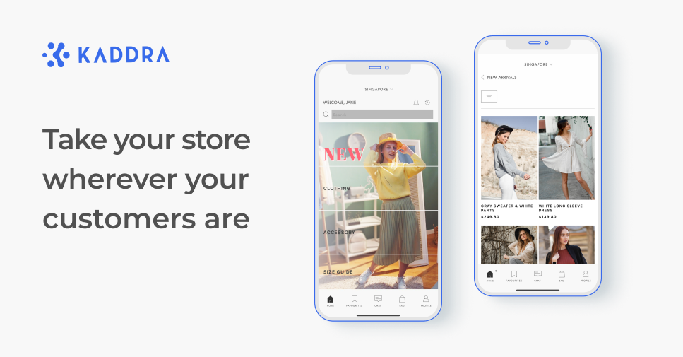 Take your store wherever your customers are